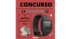 Smartwatch Amazfit Neo - Concurso
