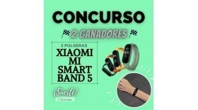 CONCURSO PULSERA XIAOMI MI SMART BAND 5