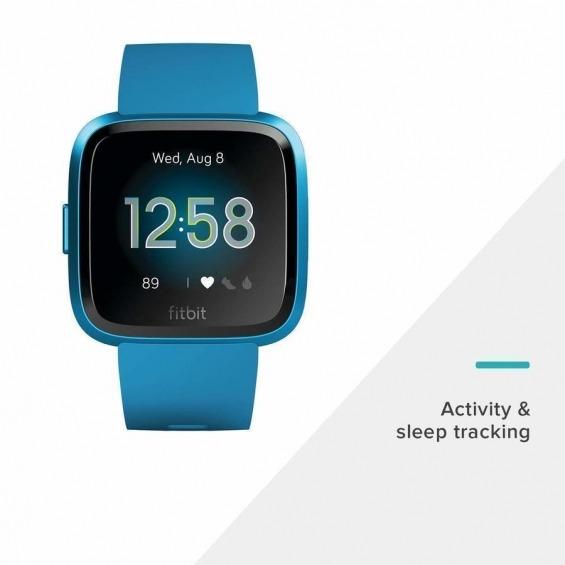 be7a3467aa21 Fitbit Versa Lite Pulsera de Actividad Azul Marino - Compra Online en…