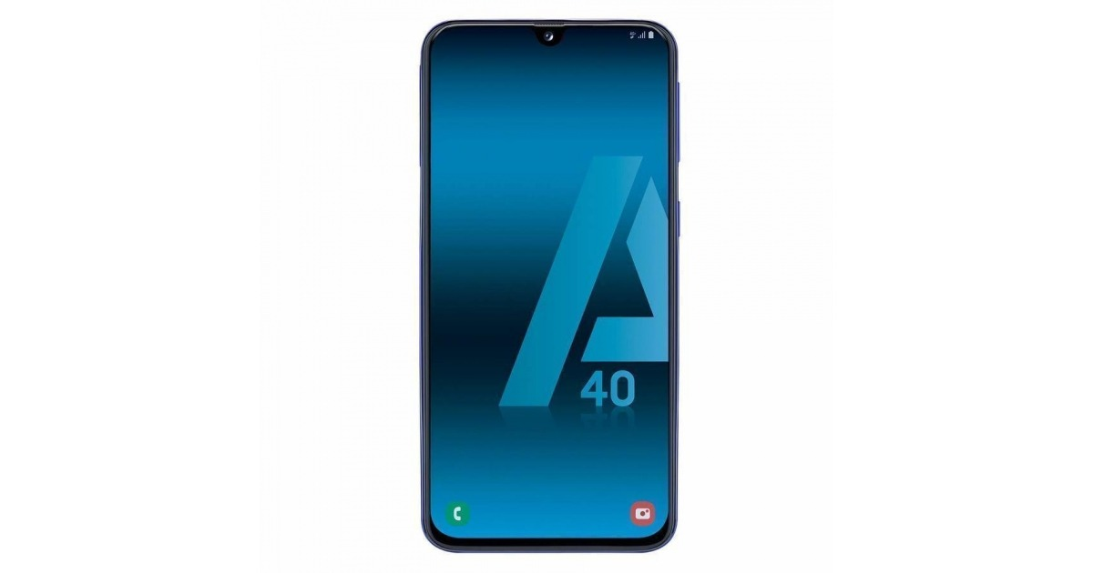 ca8ebe3ac18 Samsung Galaxy A40 4/64GB Azul Libre - Compra Online en Costomovil