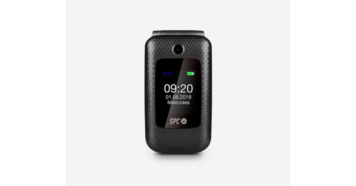 SPC Goliath Teléfono para Personas Mayores Negro - Compra