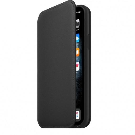 Funda Apple Leather Folio iPhone 11 Pro Negro - Compra