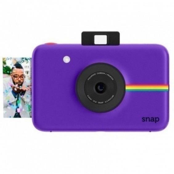 Cámara Instantánea Polaroid Snap Instant Lila - Compra Online en Costomovil 16b82c8e9e