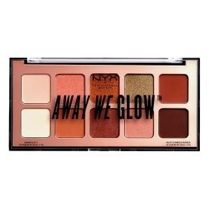 Paleta de Sombras de Ojos Away We Glow NYX (10 x 1 g)
