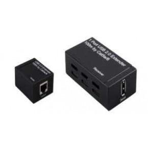 Extender de USB hasta 60m.Compatible con USB 2.0