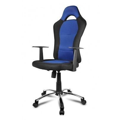 Xtech - Drakon Sport Chair - XTF-EC129 - Gaming - Blue & Black color - Max. weight capacity: 243lb