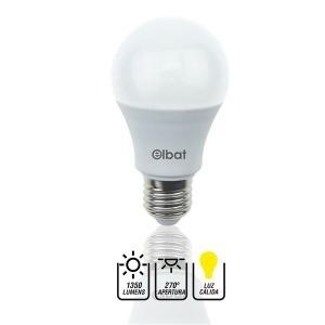 Bombilla LED A60 / 15W /1350LM / E27 / Luz Cálida / ELBAT