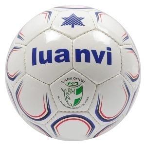 Balón de Fútbol Luanvi Al Andalus Plus Blanco/Azul (Talla 3)