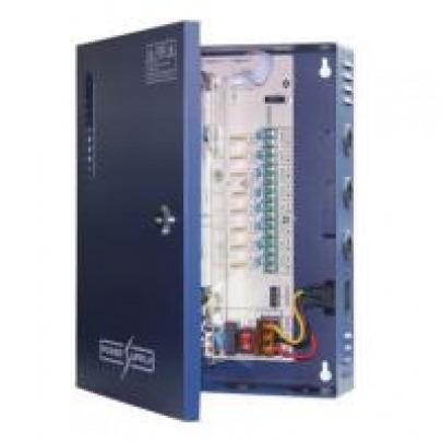 Folksafe - Power supply - KAS-DC121820 - cable included - Power supply AC input : 96-264V, 47-63Hz - Power supply output : 12VDC, 18 Channel, 20A - Output voltage regulation range: 11-15V - Tube fuse