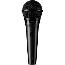 Micrófono Dinámico Vocal con Interruptor y cable XLR/XLR