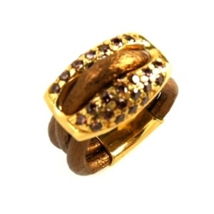 Anillo Mujer Pedro Durán EXQUSE AB (14 mm)