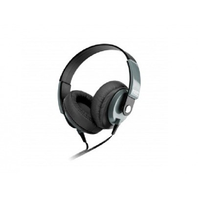 Klip Xtreme - KHS-550BK - Headset - For Phone / For Portable electronics / For Tablet / For Computer / For Cellular phone - Wired - Over-The-Ear-Mic