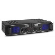 SkyTec, amplificador 2x 750W con ecualizador - SPL1500EQ