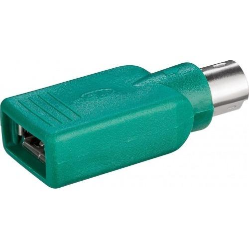Adaptador USB a PS2 (DIN6-M a USB A-H)