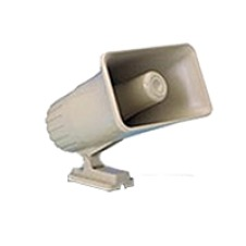 Honeywell - Self contained dual-tone electronic siren 6-12VDC - 30 watt - Dual tone - warble or steady - Enclosed wires, easily tampered - 30 watt power rating - Protective cabinet available (743BE)