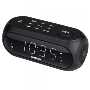 Radio Despertador Altavoz Bluetooth con Radio Digital FM + Puerto USB Daewoo