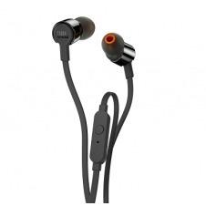 JBL T210 - Earphones with mic - in-ear - wired - 3.5 mm jack - black