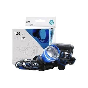 Linterna LED M-Tech IL09 Frontal