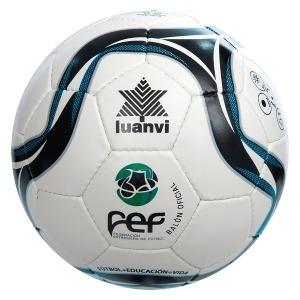 Balón de Fútbol Sala Luanvi Fef Zagalin Fs PVC (58 cm)