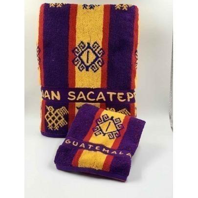 Toalla de Manos con Diseño Típico de Sacatepéquez Marca Cantel