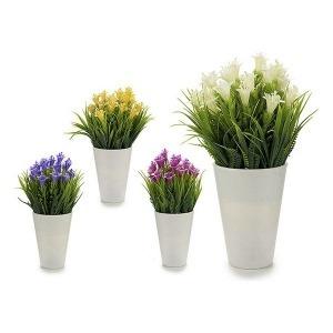 Flores Decorativas Plástico (11 x 22 x 11 cm)