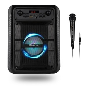Altavoz Bluetooth Portátil NGS Roller Lingo Negro 20W (Reacondicionado A)
