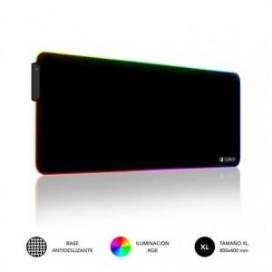 Alfombrilla Subblim MP-02RGB01 LED RGB XL/ 800 x 300 x 4 mm