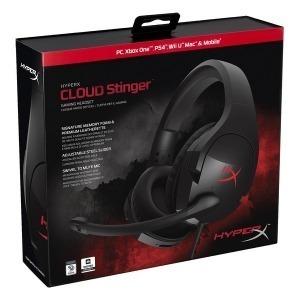 Auricular con Micrófono Gaming Hyperx Cloud Stinger Negro (Reacondicionado A+)