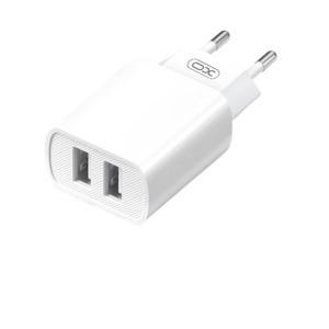 Cargador de Corriente L71 2.4A USB Blanco XO