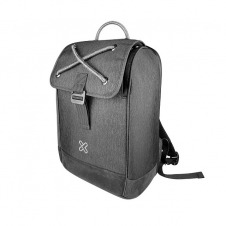 Klip Xtreme - Notebook carrying backpack - 1680D polyester - Business gray - 14.1in Slim laptops
