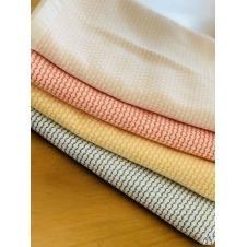 Toalla zig zag Cantel , Toalla Absorbente, Limpiador de Cocina , color Peach beige, medida 18x27 Pulgadas
