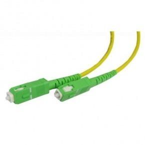 Cable fibra óptica 2XSC/APC monomod 4.0m