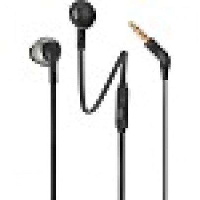 JBL T205 - Earphones with mic - in-ear - wired - 3.5 mm jack - black