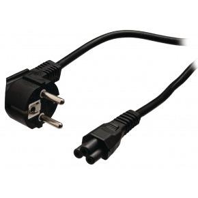 Cable alimentación Schuko/M C5 Negro 5m