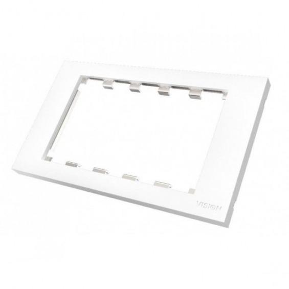 Frontal tapa superficie blanca de dos vahias 86 x 146