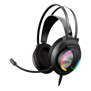 Auriculares con Micrófono Gaming Krom Kappa RGB