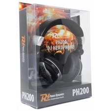 PH200 Auriculares DJ Plata