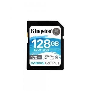 Tarjeta de Memoria SD Kingston SDG3/128GB           128GB