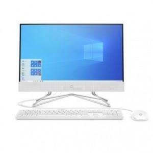"PC ALL IN ONE HP 22-DF0025NS - INTEL J4025 2.0GHZ - 4GB - 256GB SSD PCIE NVME - 21.5""/54.6CM FHD - WIFI - TEC+RATON - NO ODD - W10 - BLANCO NIEVE"