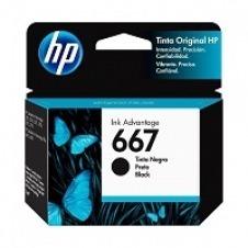 HP - 667 - Ink cartridge - Black - 3YM79AL