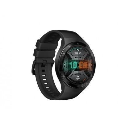 Huawei - GT2 E B19S- Smart watch - 55025199 - Graphite black - 1,39 pulgadas AMOLED 454 x 454 HD, La pantalla táctil AMOLED admite gestos deslizantes y táctiles - 5 ATM resistente al agua