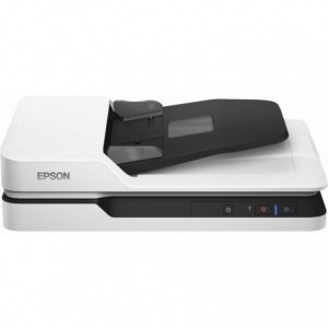 Escáner Documental Epson WorkForce DS-1660W con Alimentador ADF/ Doble Cara