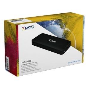 Caja Externa TooQ TQE-2280B SSD M.2