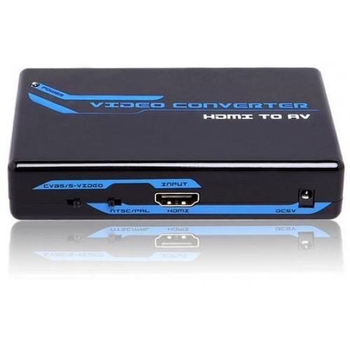 Conversor HDMI a Video Compuesto y S-VIDEO