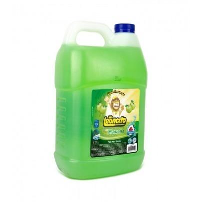 Desinfectante de Manzana Verde Marca Leoncito 1 Galón