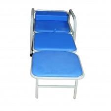 Silla plegable multifuncional color azul MARCA ABM MEDICAL CARE