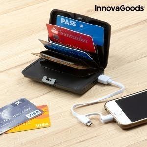 Tarjetero de Seguridad y Power Bank InnovaGoods
