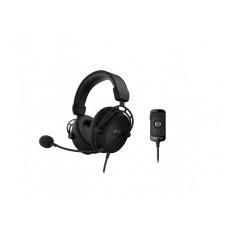 HyperX Cloud Alpha S - Auricular - tamaño completo - cableado - conector de 3,5 mm - negro