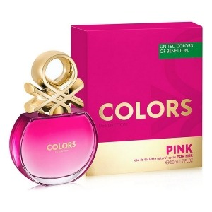 Perfume Mujer Colors Pink Benetton EDT (50 ml)