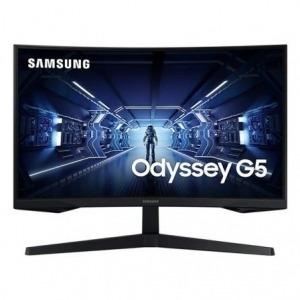 """Monitor Gaming Curvo Samsung Odyssey G5 LC27G55TQWU 27""""/ WQHD/ Negro"""